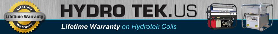 Hydrotek Lifetime Warranty