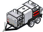 Hydrotek Trailer Series - Pressure Washer